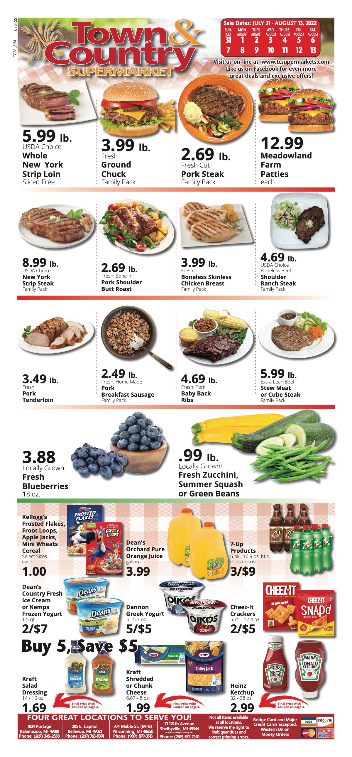 Town & Country Pinconning Weekly Ad Circular